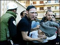 Bentrokan terjadi menyusul aksi protes selama berminggu-minggu