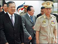 Cambodia hosts Burmese PM on a recent state visit