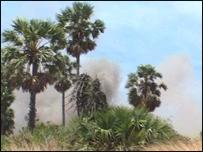 வடக்கில் பெருமளவில் ஷெல் வீச்சு