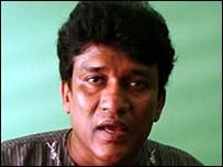 இலங்கை நாடாளுமன்ற உறுப்பினர் மனோ கணேசன்