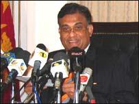 இலங்கை அரசின் வெளியுறவு அமைச்சர் ரோஹித போகல்லாகம