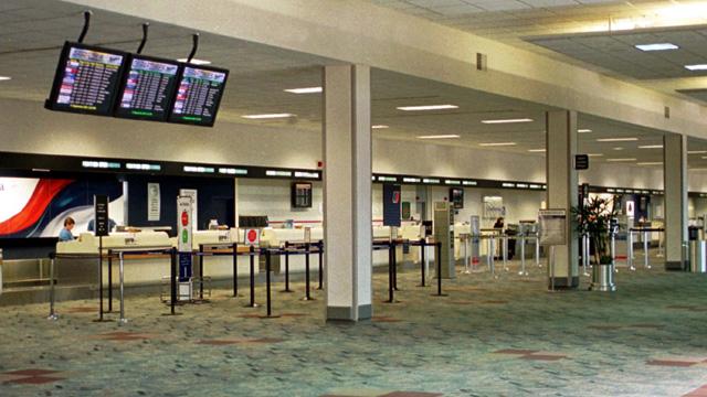 Sân bay trống không, Dayton, Ohio