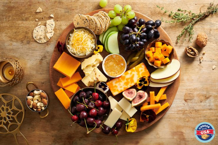 Create the perfect cheeseboard with USA cheese