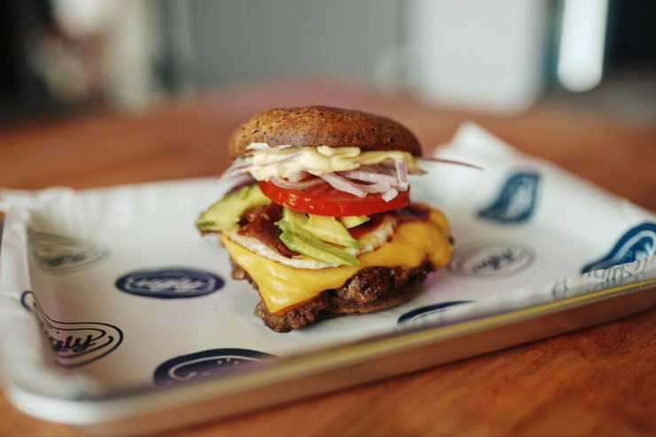 uglyburger x keto goodies