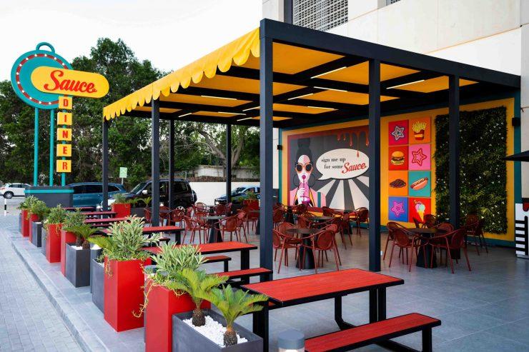 Sauce, American Diner, Al Habtoor City
