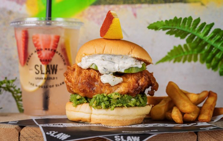 SLAW Brit Burger DUbai Jumeirah