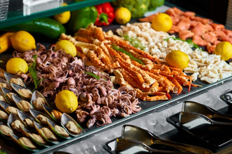 Dinner Buffet Armani/Mediterraneo, Armani Hotel Dubai