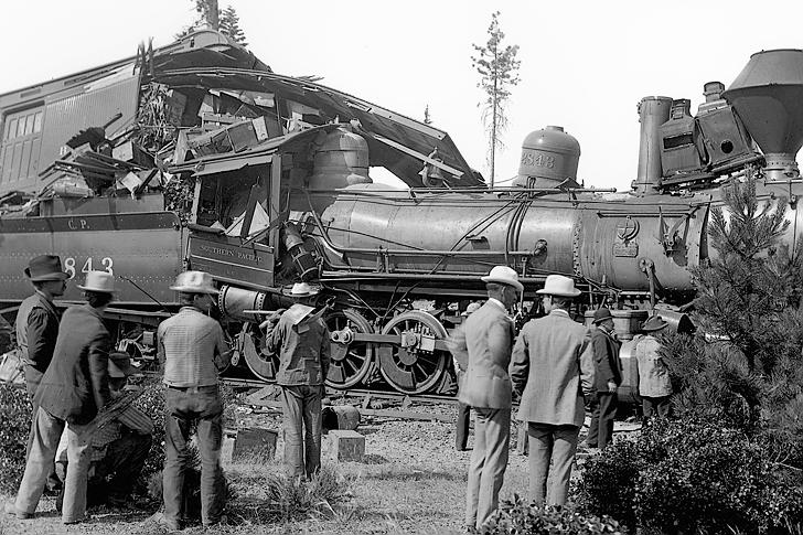 Jones Train Casey Wreck