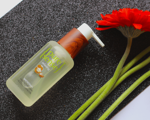 PureSense Relaxing Macadamia Deep Nourishing Face Cleansing Oil Review