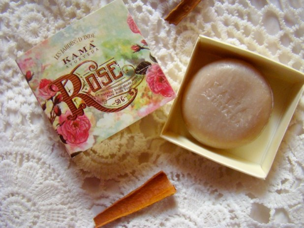 Kama Ayurveda Rose, Orange & Cinnamon Soap Review Price Photos