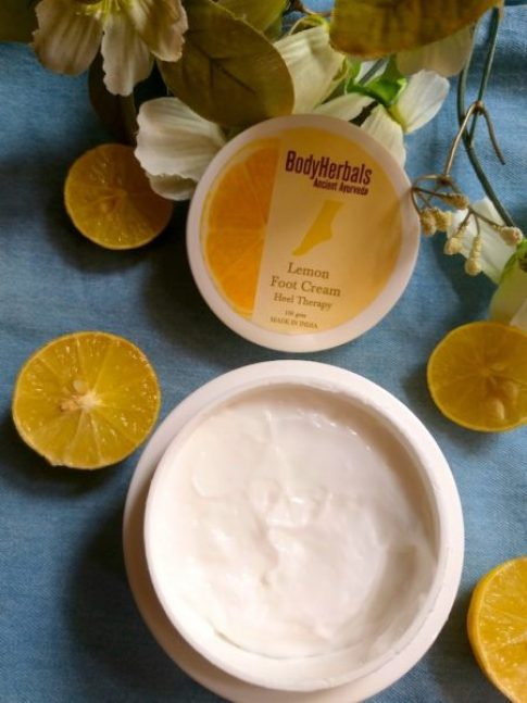 BodyHerbals Lemon Foot Cream Review Photos Price