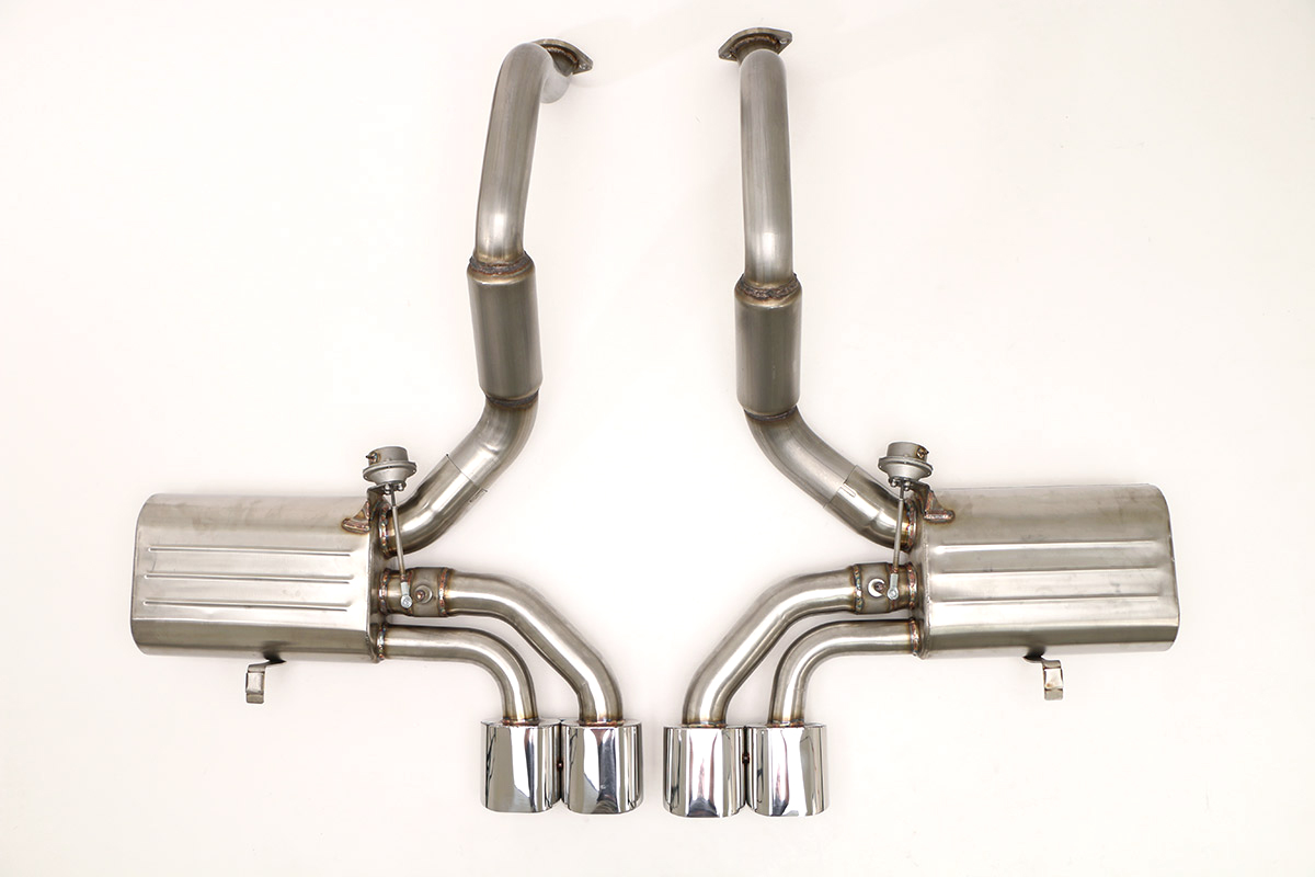 corvette c5 exhaust products billy