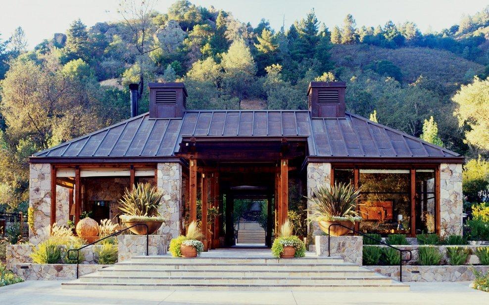 calistoga ranch entrance