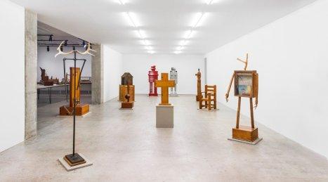 H.C. Westermann –See America First (2015) - Adam Lindemann Installation