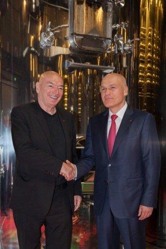 jean nouvel art russe grand opening saint emilion fermentation chamber andrey filatov