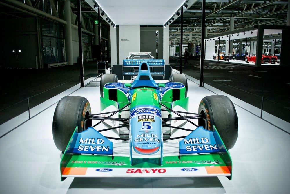 grand basel ford Benetton B194-05 Formula 1
