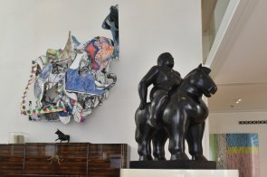 Rashid Al Khalifa, personal collection - Botero and Stella