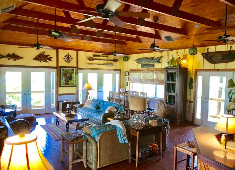 big bamboo living room