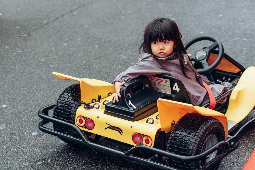 Illinois Route 66 Regent Street Motor Show child toy car