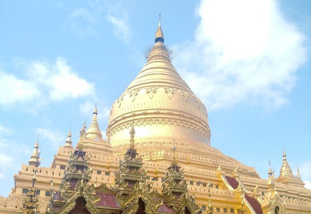 myanmar golden pagoda