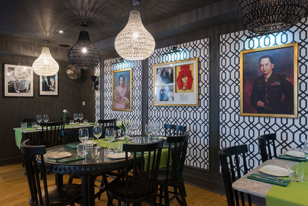 romulo cafe dining room