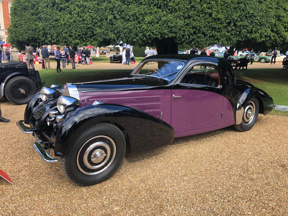 concours of elegance 2020 1938 Bugatti Type 57 Atlante Coupe