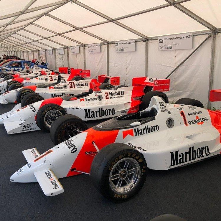 2021 festival of speed mercedes display