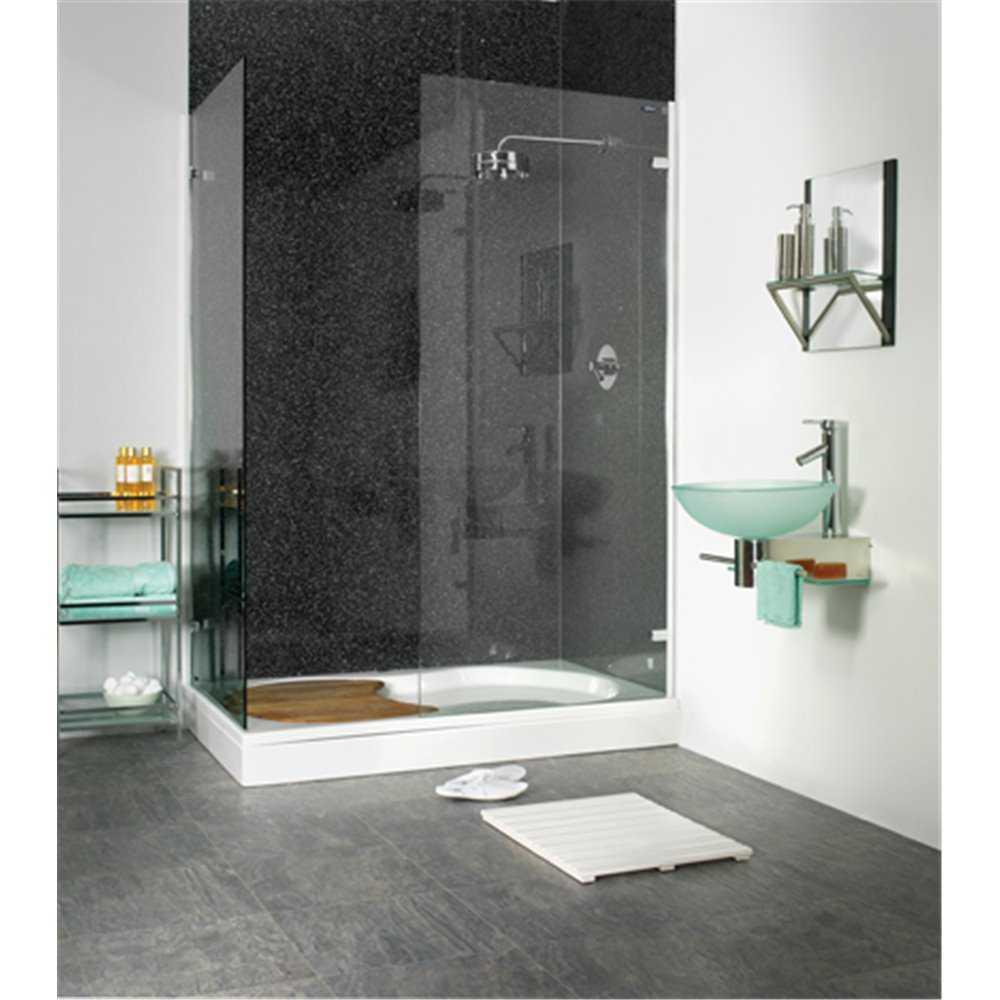 Showerwall Black Galaxy Bathroom Waterproof Wall Panelling