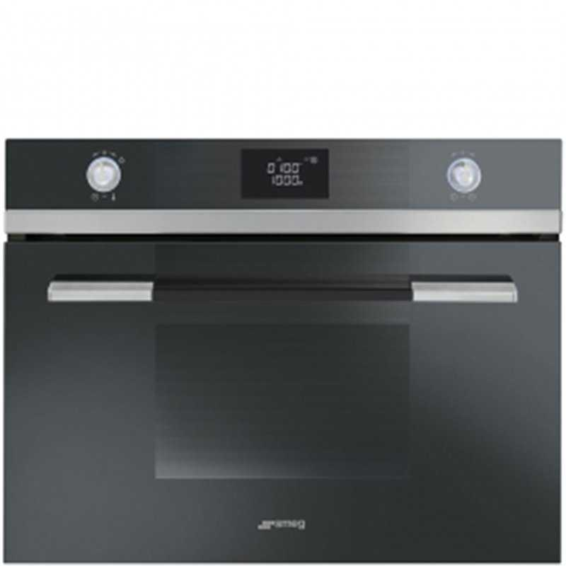 smeg 60cm compact combination microwave oven closed door grilling