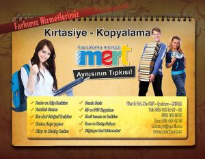 011 Mert Copy Center Reklam Tasarimi