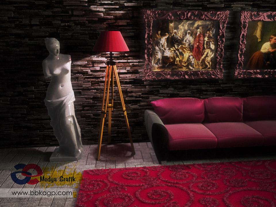 3 boyutlu photorealistic Render Ankara Vray
