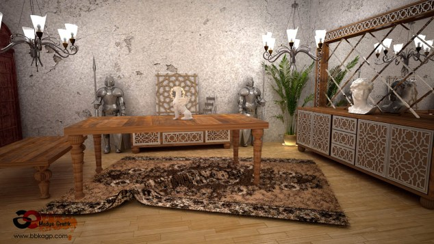 Photorealistic Render Ankara Vray Post Production