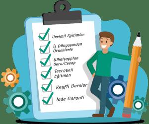 Checklist Private Lesson