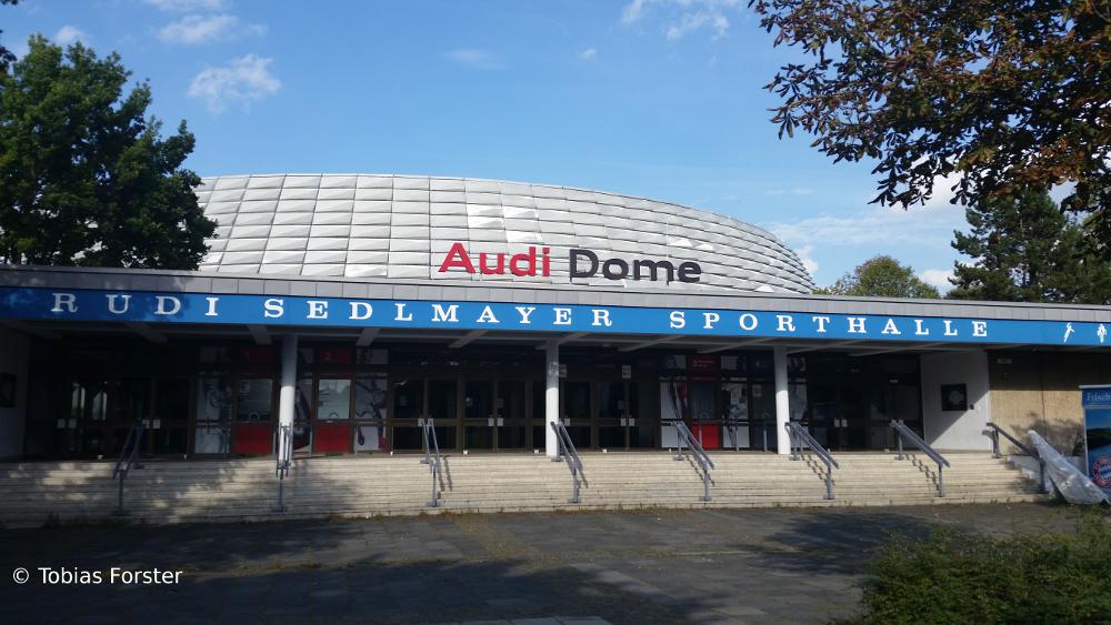 Der Audi Dome – die Heimat der Bayern