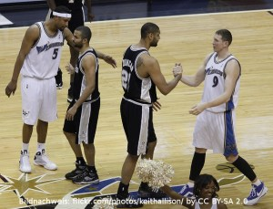 Tim Duncan Tony Parker San Antonio Spurs