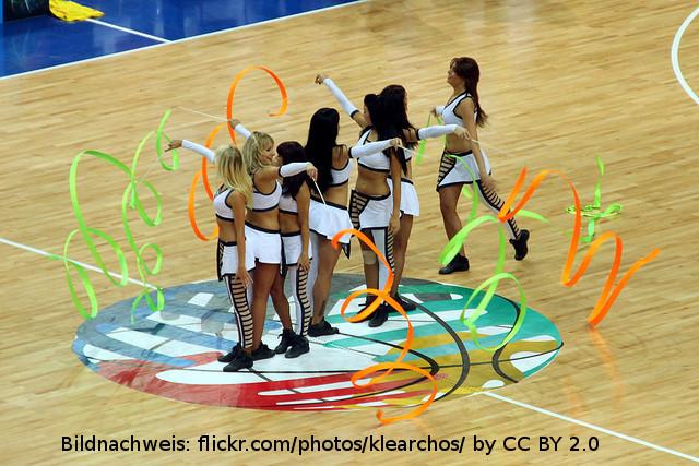 Zalgiris Kaunas Cheerleader