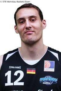 ETB Wohnbau Baskets Essen - Portrait Christoph Hackenesch