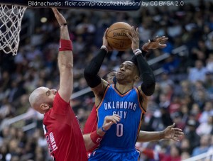 US - Action - Oklahoma City Thunder - Russell Westbrook
