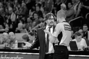 DE - BBL - Brose Bamberg - Andrea Trinchieri - Schiedsrichter
