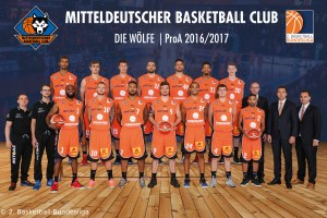 DE - Teamfoto - Mitteldeutscher BC 2016-2017