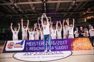 DE - Regionalliga - Meisterfoto - BBC Coburg