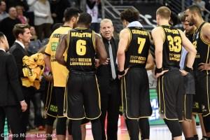 DE - Action - MHP RIESEN Ludwigsburg - Team