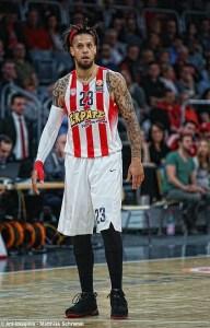 Europa - Daniel Hackett- EuroLeague - Action - Olympiacos Piräus