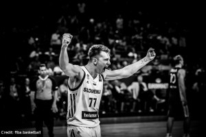 EuroBasket 2017 - Action - Slowenien - Jubel Luka Doncic