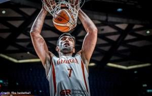 Eurobasket 2017 - Action - Georgien - Zaza Pachulia