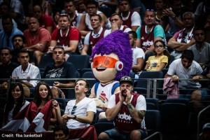 Eurobasket 2017 - Fans und Maskottchen