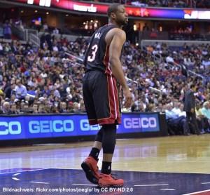 USA - NBA - Dwayne Wade - Miami Heat - Action