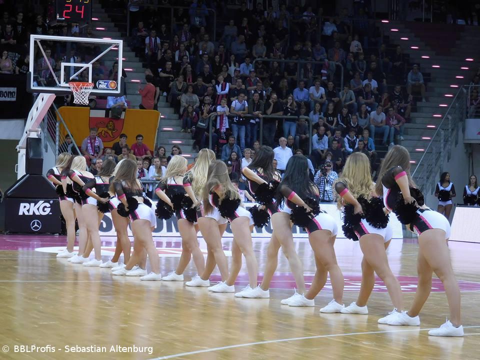 Baskets-Danceteam-Casting – 09. Juni ab 10 Uhr