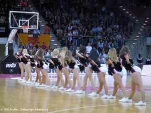 Champions League - Telekom Baskets Bonn - Baskets DanceTeam Formation