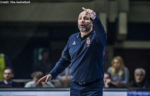 FIBA Qualifikation - Serbien - Trainer - Aleksandar Djordjevic